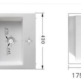 Wall Hung B-1028AW, By Bestlink