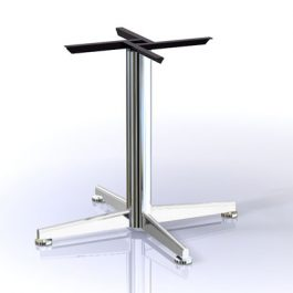 Aurora & Eco Single Column 4 Star Pedestal Bases - Tier 1, By Tomako