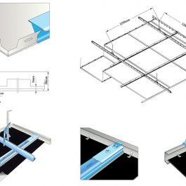 Rockfon Metal Ceiling Solutions Clip-In Aluminum Panel