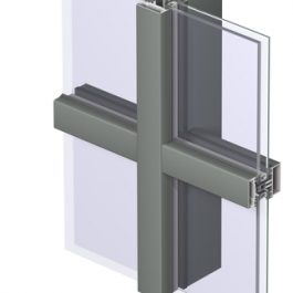 Thermally Broken Curtain Walls By MSF