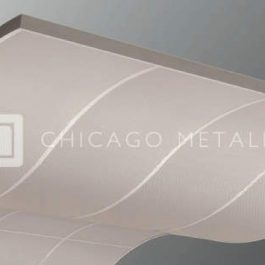 Rockfon Metal Ceiling Solutions, Curvilinear Ceiling
