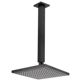 Nautica Ceiling Mount Shower Rose Black, By Bestlink