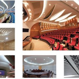 Rockfon Metal Ceiling Solutions, Non-Standard System