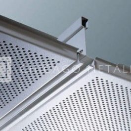 Rockfon Metal Ceiling Solutions, Planostile® Lay-In System