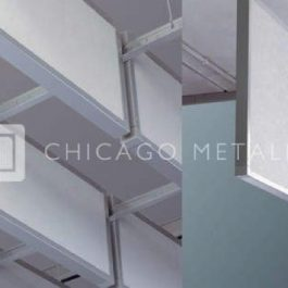 Rockfon Metal Ceiling Solutions, Screenline System