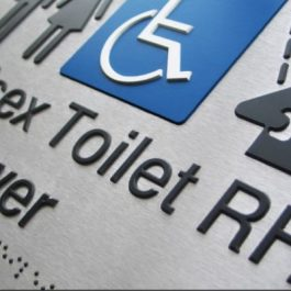 Stainless Steel Braille Signs, By Braille Sign Supplies