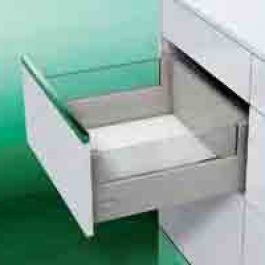 DWD XP Agantis Pot Drawer H127 with rectangular railing By Artia