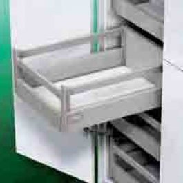 DWD XP Agantis Inset Drawer H95 with rectangular railing By Artia