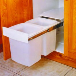 Kimberley Concealed Twin Bin (Stackable) By Artia