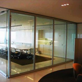 Operable Glass Walls, By Hufcor