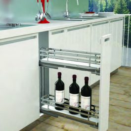 Side Mount Pullout – 2 Basket By Artia