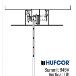 Summit Vertical Lift Operable Partitions, By Hufcor