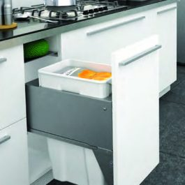 Pullout Wastebin to suit 400mm Cabinet By Artia
