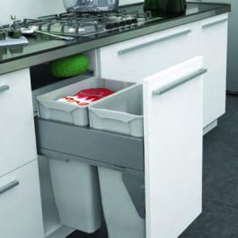 Pullout Wastebin to suit 450mm Cabinet By Artia