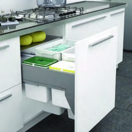 Pullout Wastebin to suit 600mm Cabinet By Artia