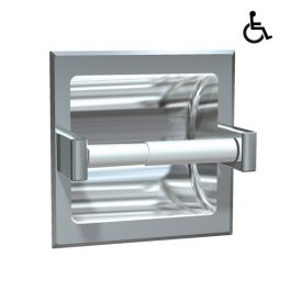 Recessed Single Toilet Roll Holder, By ASI JD MacDonald