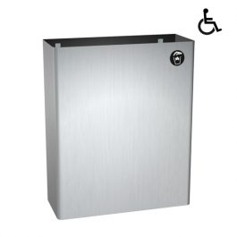 Wall Mounted Waste Bin 24.8L - Traditional Collection, By ASI JD MacDonald