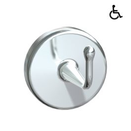 Heavy Duty Chrome Plated Brass Robe Hook - Concealed Mounting, By ASI JD MacDonald