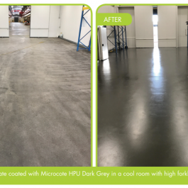 Antimicrobial & Non slip Coating, by Microcote HPU